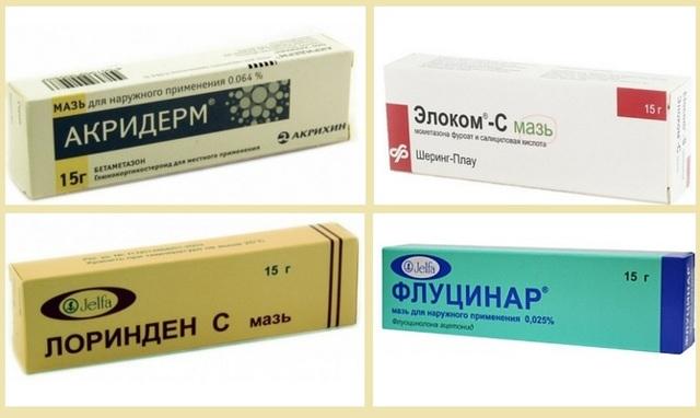 Бальзамы и кремы от псориаза : названия и способы применения