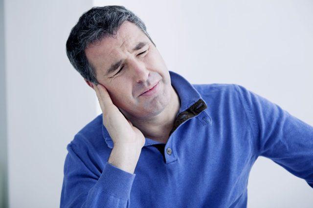 Химические ожоги ушной раковины и наружного слухового прохода