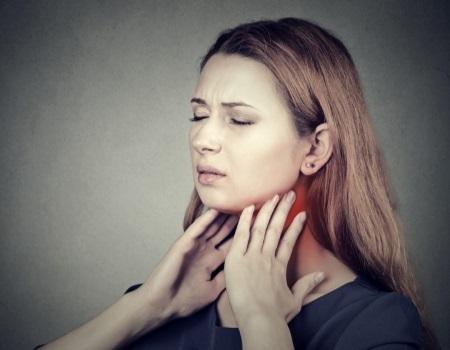 Что делать при отеке горла?