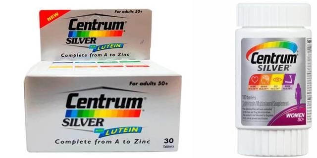 Витамины для пожилых : инструкция по применению