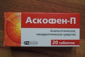 Аскофен при беременности : инструкция по применению
