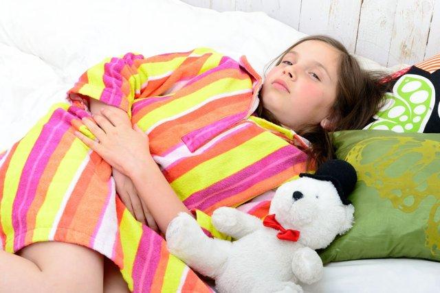 Боль в желудке у детей