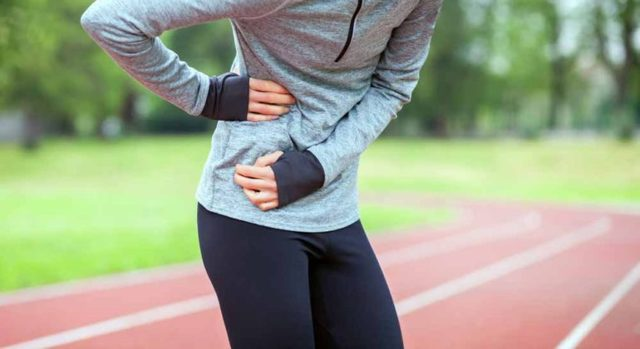 Боль в боку при ходьбе