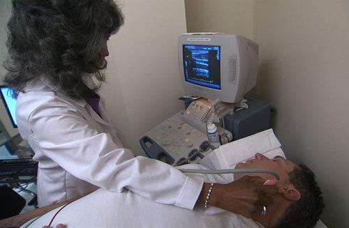 Пункция и биопсия слюнных желез