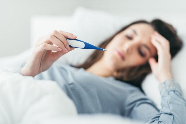 Температура при аллергии : причины, симптомы, диагностика, лечение